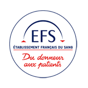 Logo EFS - Donneur aux patients