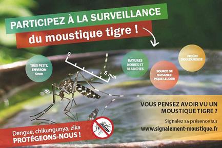 Carte vigilance Moustiques Niveau 0