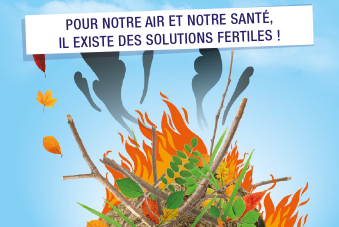 Le brûlage à l'air libre des déchets verts, c'est interdit toute l'année ! | Agence régionale de santé Nouvelle-Aquitaine