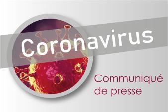 Visuel COVID-19 / Coronavirus - Communiqué de presse