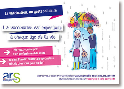 Image carte postale vaccination