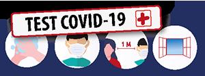 COVID-19 - Visuel Test COVID-19 Positif