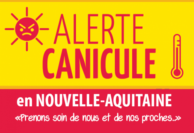 Illustration Alerte canicule 2018