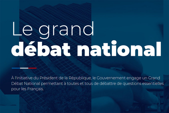 Illustration grand débat national